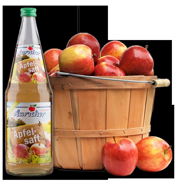 Auricher Süssmost - Apfelsaft - Äpfel