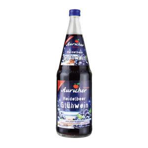 Auricher Süssmost - Produkte - Heidelbeer Glühwein
