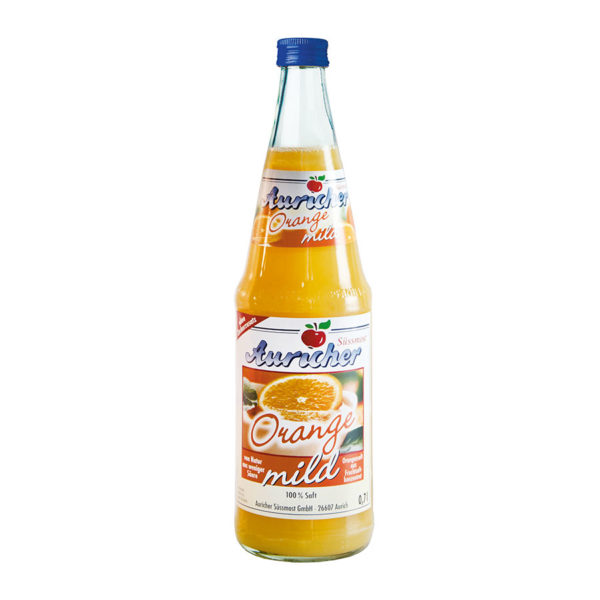 Auricher Süssmost - Produkte - Orangensaft MILD