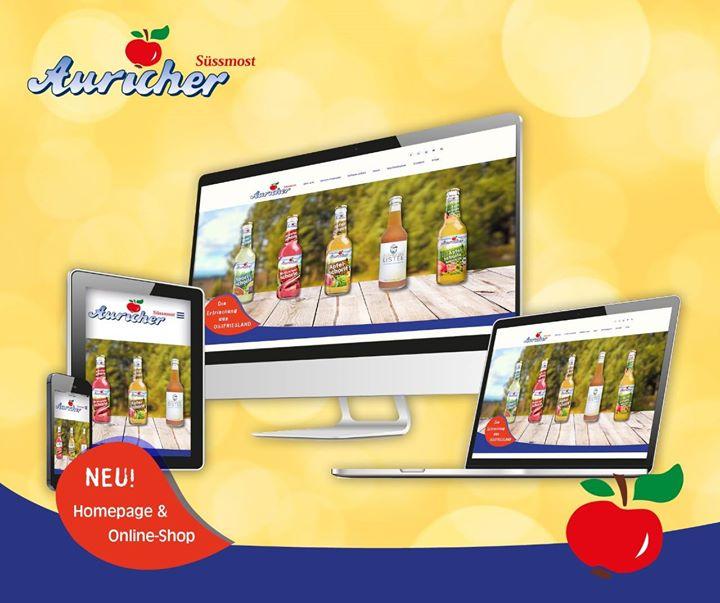 Endlich ist unsere neue Auricher Süssmost Homepage online