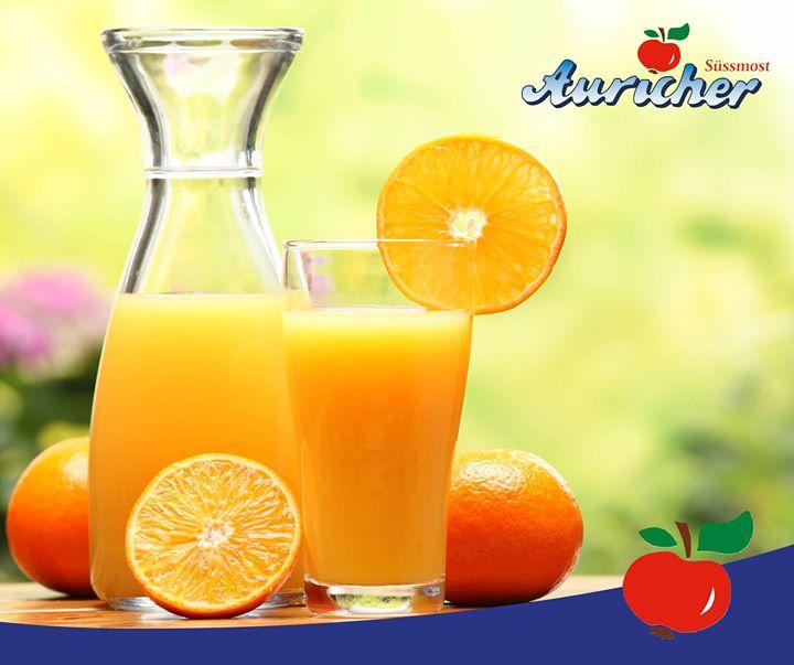 Jahresvorsätze mit Orangensaft