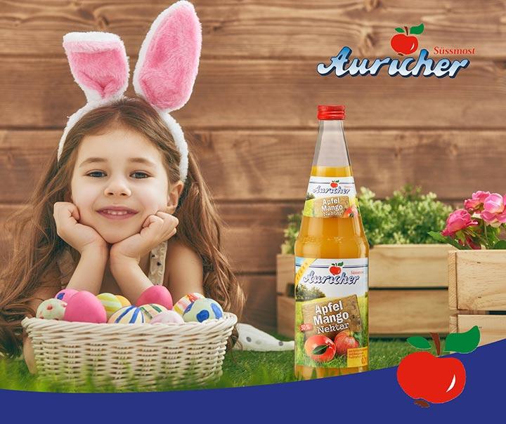 Auricher Süssmost wünscht frohe Ostern