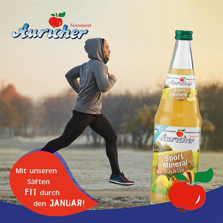 Unser veganer Sport-Mineral-Aktiv-Saft!
