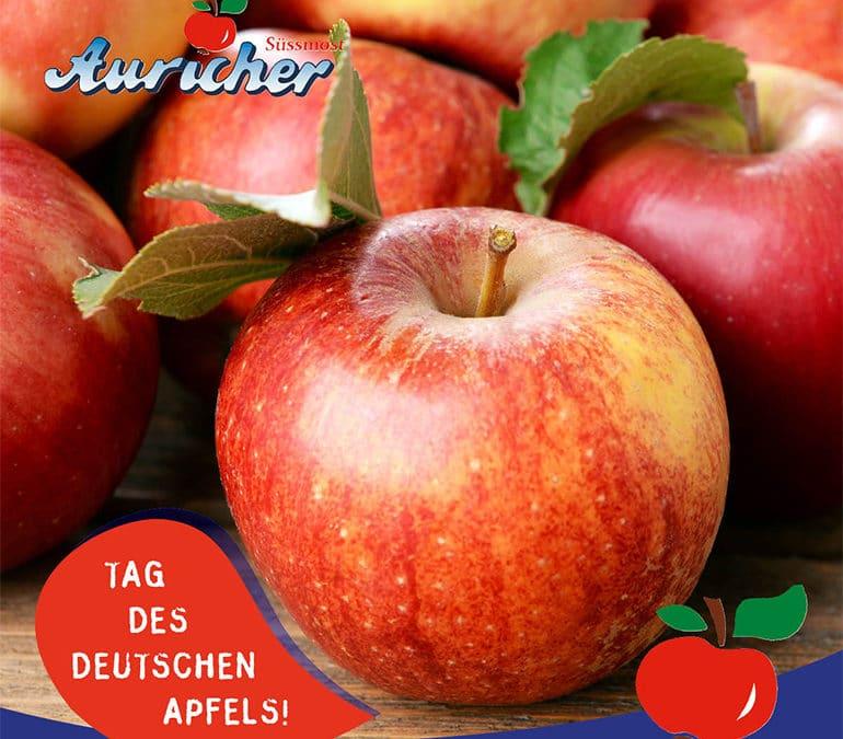Heute ist Tag des deutschen Apfels!