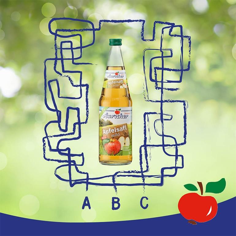Unser leckerer Apfelsaft!