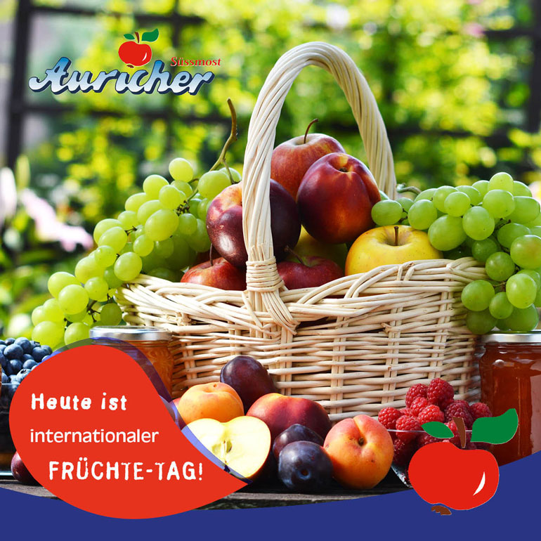 Heute ist International Fruit Day!