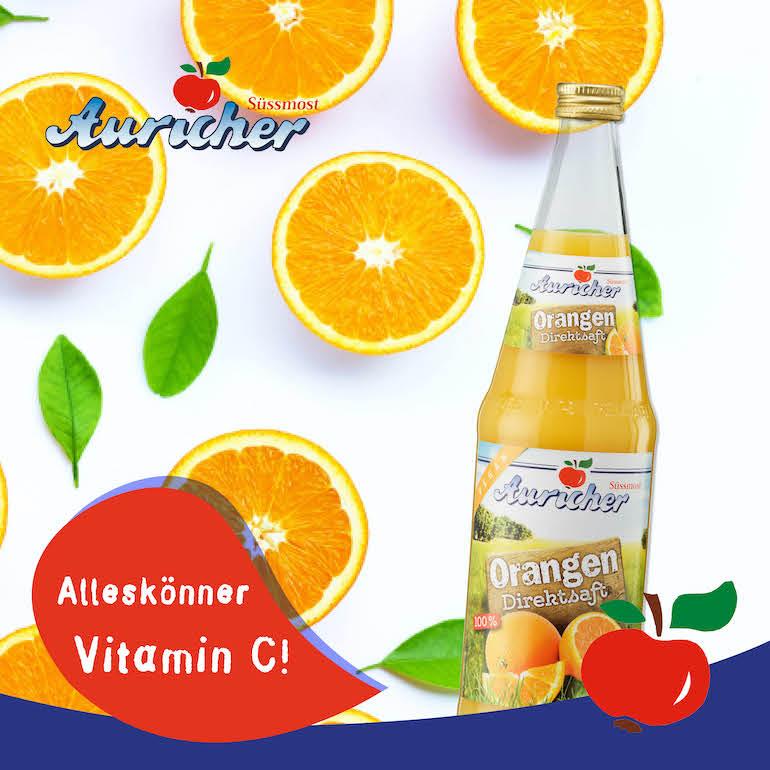 Vitamin C – ein echter Alleskönner!🍊